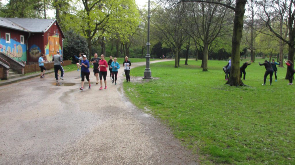 Outdoor Fitness SPECK&RUN_in Aktion